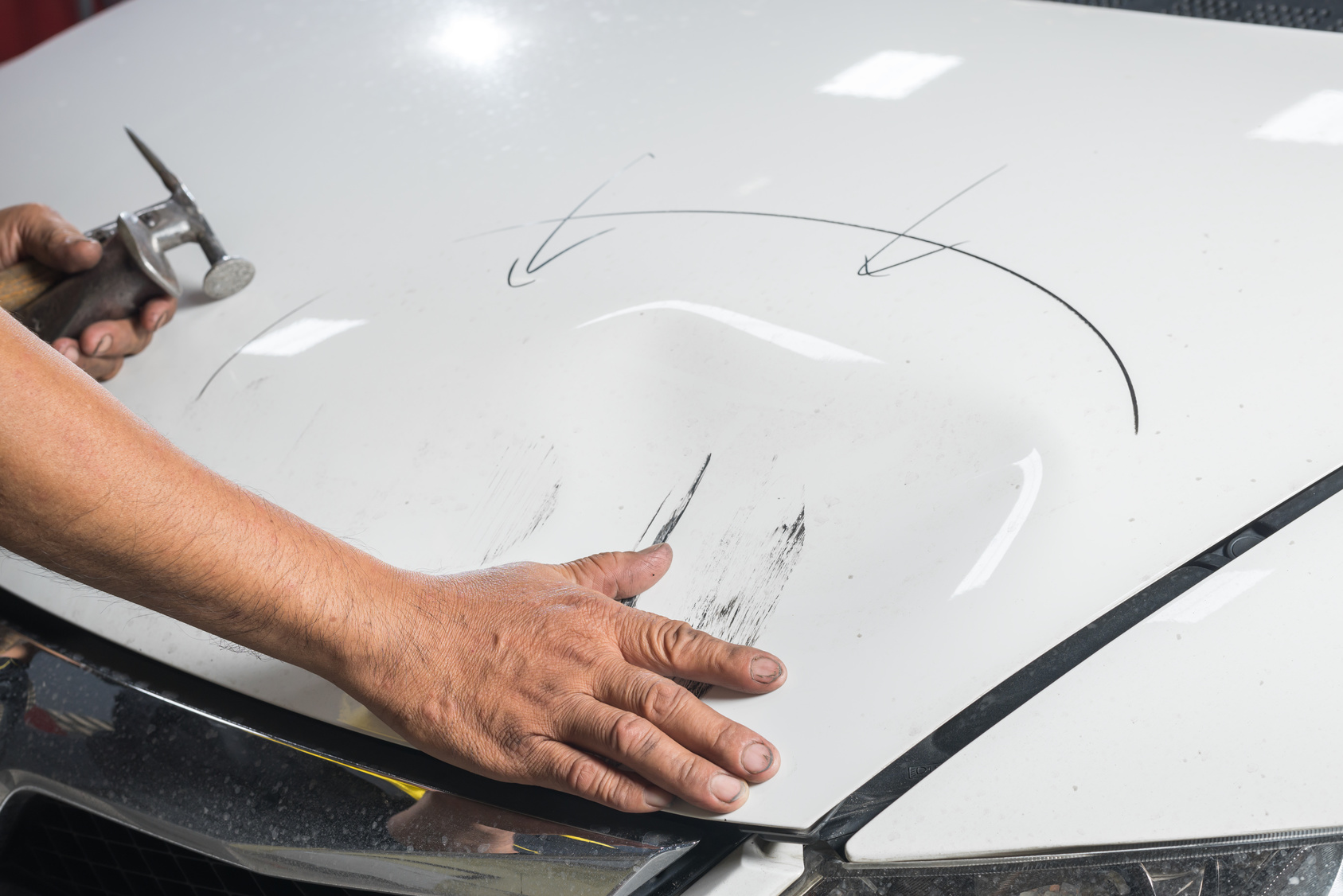 Scratches and Dents repair